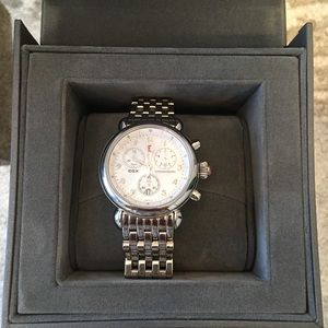 Michele Watch stainless. Original packaging/box.
